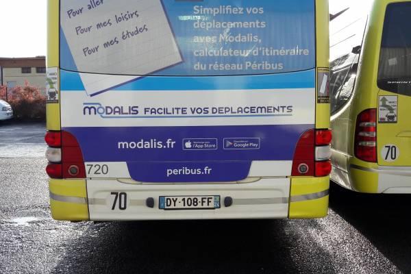 Modalis s'affiche sur le réseau Peribus
