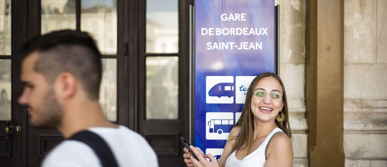 Espace Modalis en gare de Bordeaux St Jean